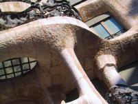 An example of Antonio Gaudi's architecture